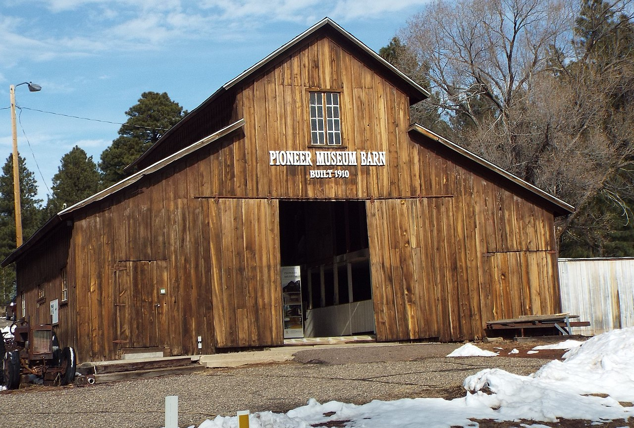 Famous Place To Visit In Flagstaff-Pioneer Museum