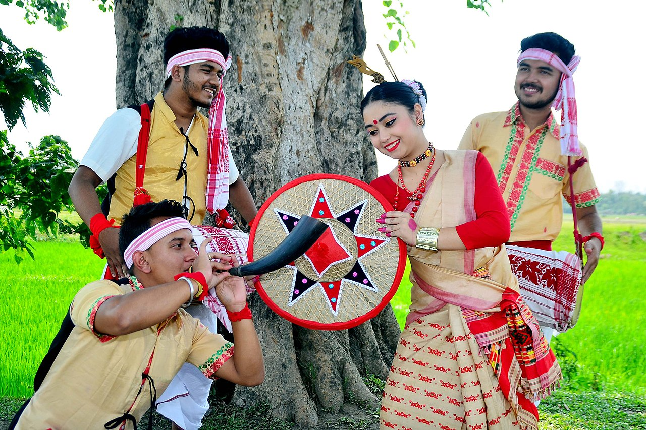 Assam Memorable North East India Tour-Assamese Festivities