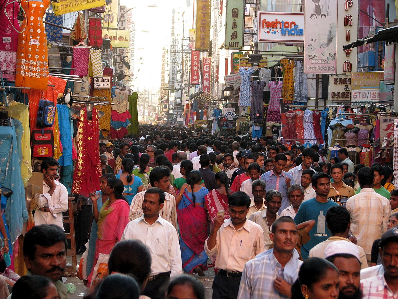 Top Place To Shop In Chennai-Pondy Bazaar