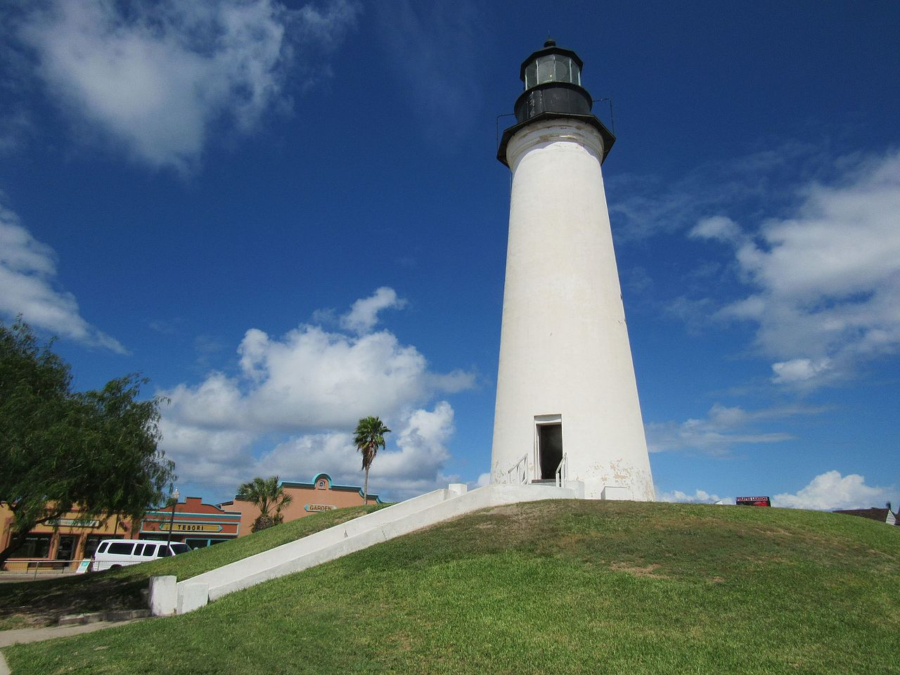 Top Historical Commission Sites In Texas-Port Isabel Lighthouse State Historic Site