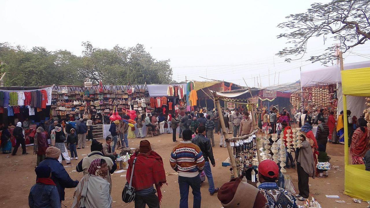 Amazing Place to See in Bolpur-Poush Mela