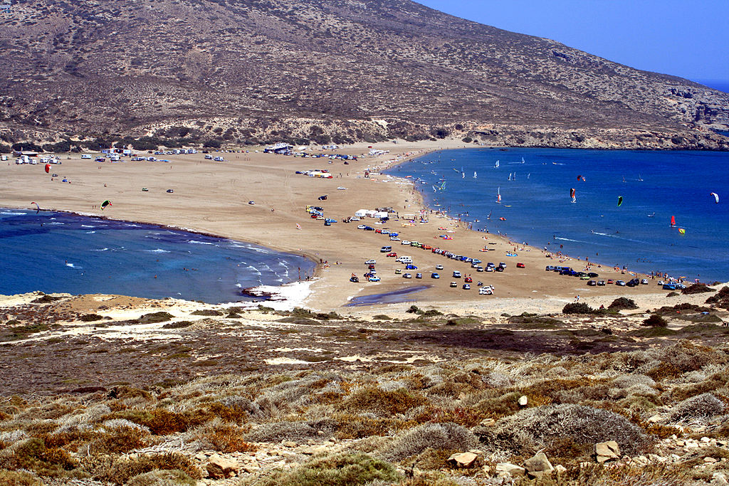 Attraction Beach of Rhodes Island-Prasonisi Beach