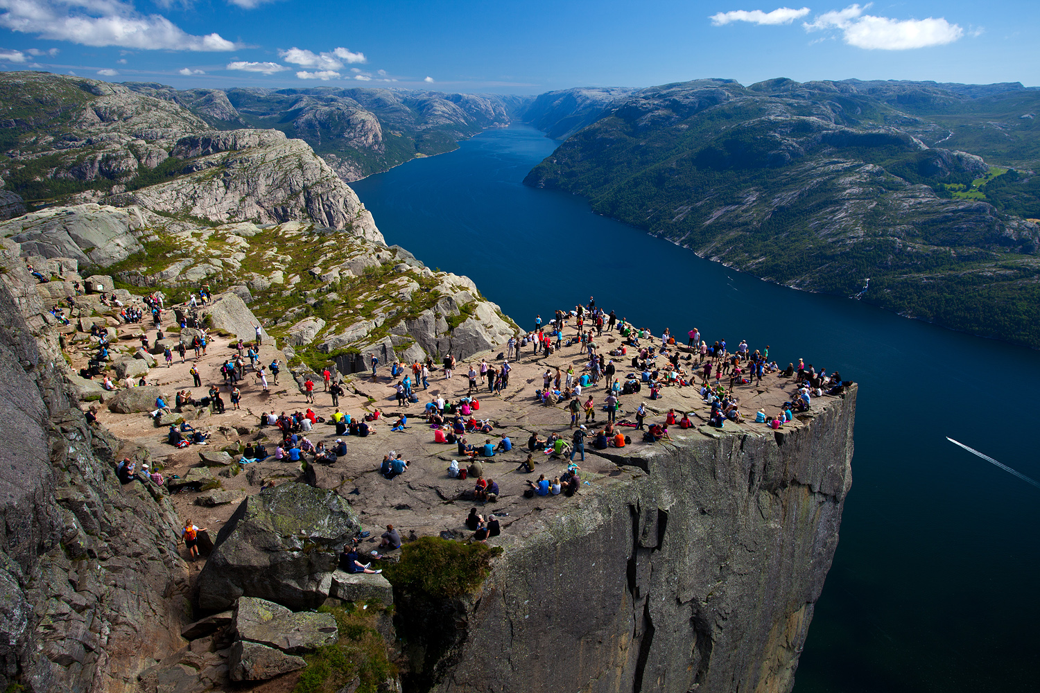 Preikestolen (Pulpit Rock) - Must Visit The Flat Mountain Top In Stavanger Region