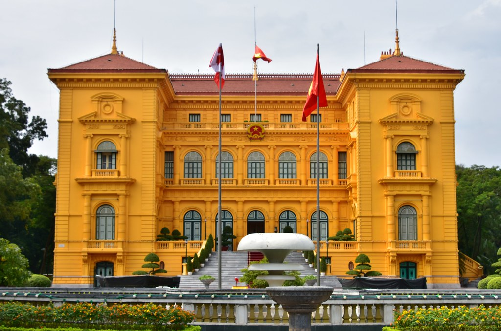 Best Attractions of Hanoi, the Vietnamese Capital City-Presidential Palace