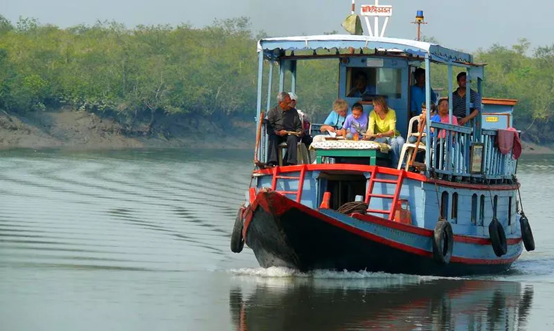 Reaching Sunderbans By Private Transport, Boat