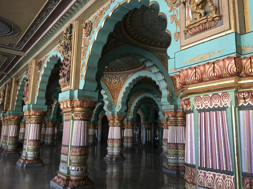 Public Durbar Hall at Mysore Palace