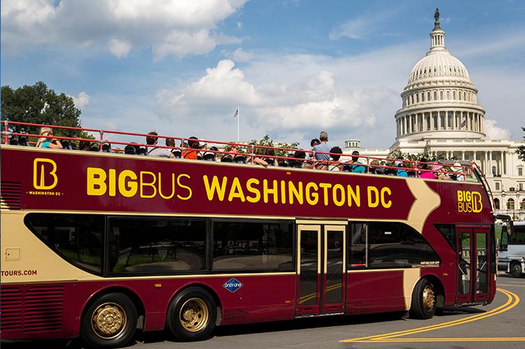 Public Transport Is Used Tourists - Washington DC