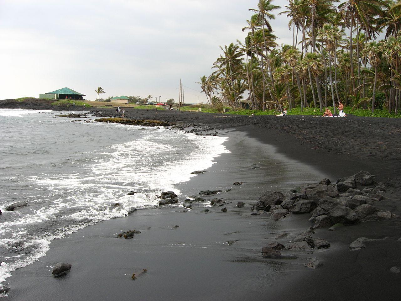 Punalu'u Beach - Best beach in Hawaii