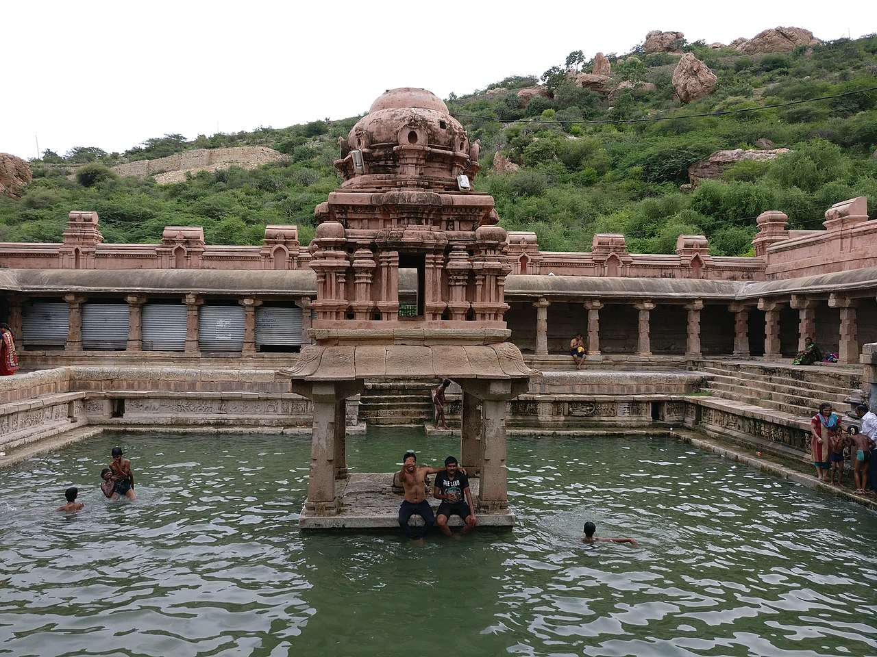 Major Attractions at Yaganti Temple-Pushkarini