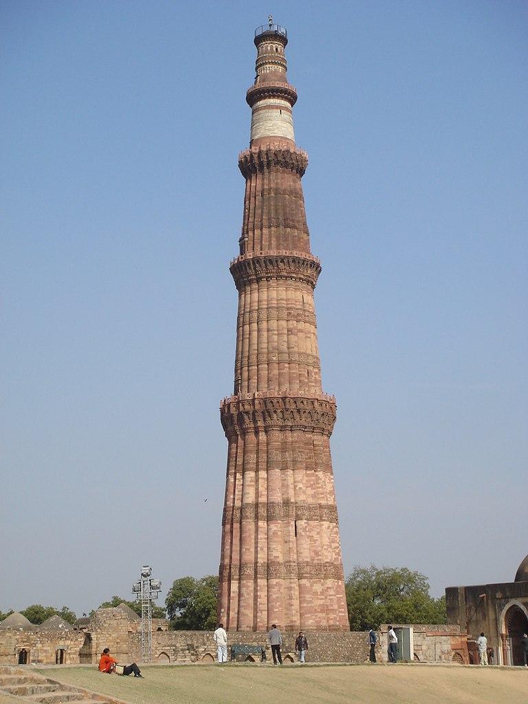 Historical Place To Visit In Delhi-Qutub Minar