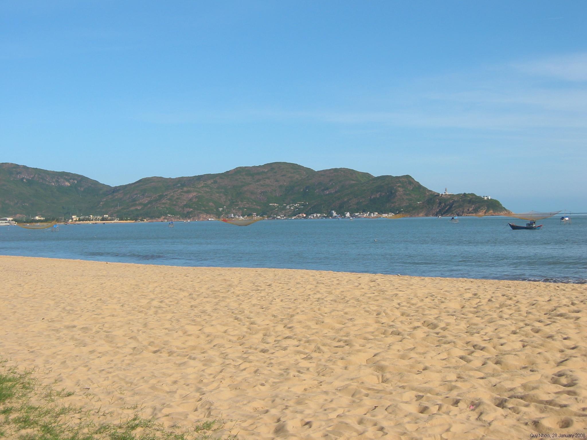Amazing Beache in Vietnam-Quy Nhon Beach