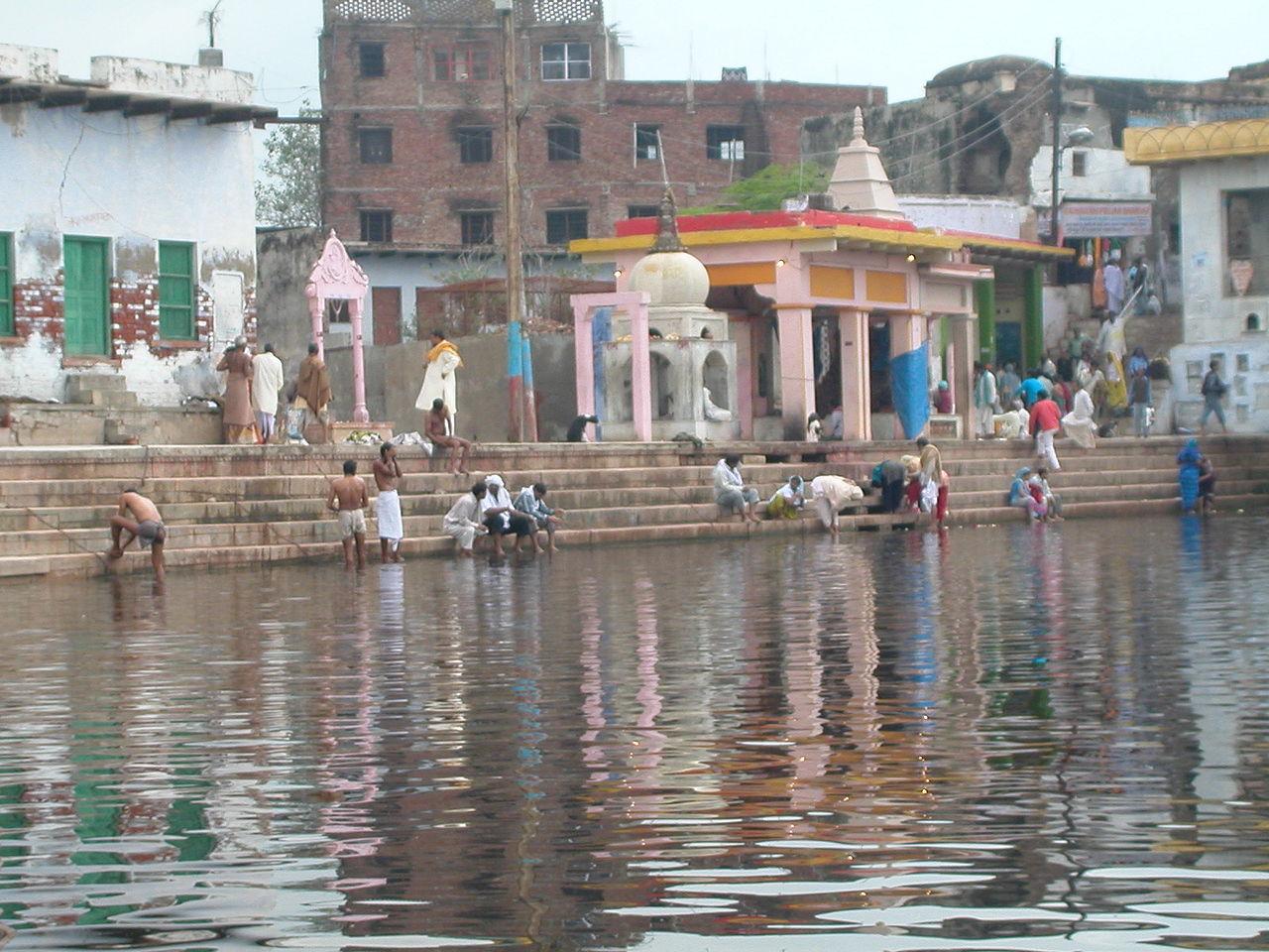 Best Visiting Place In Mathura-Radha Kund