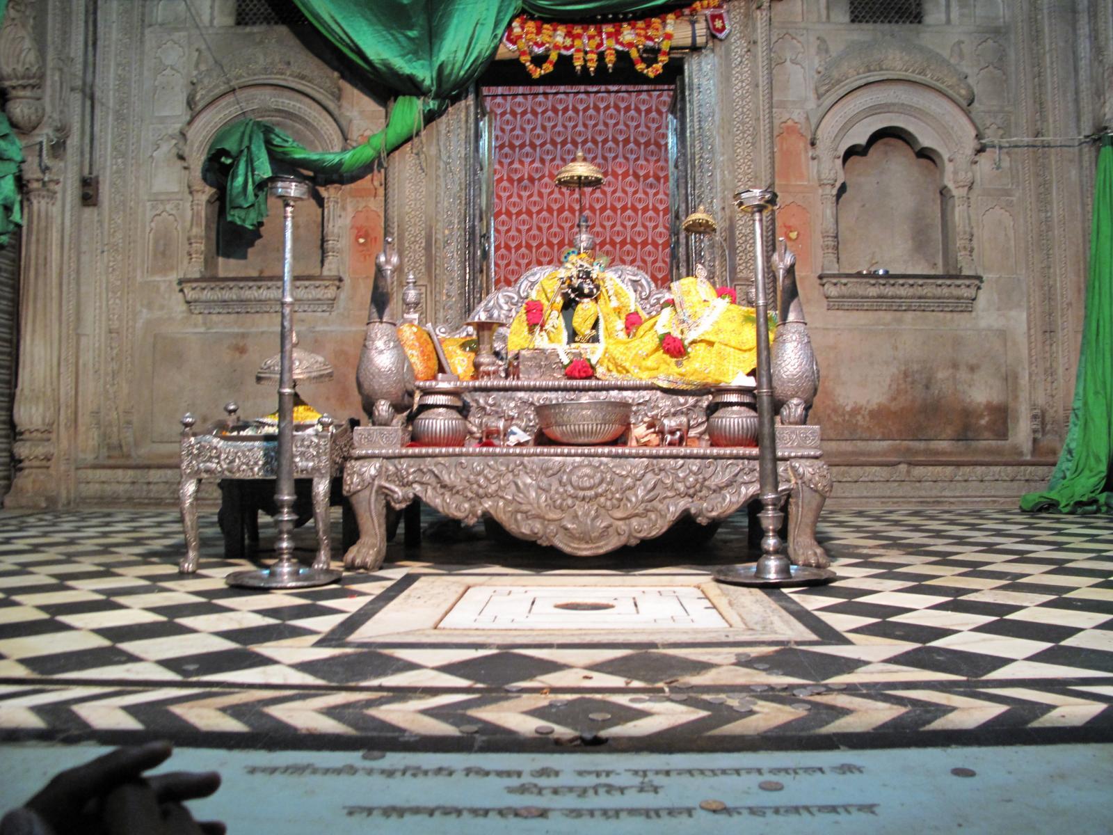 Popular Temple in Vrindavan-Radha Raman Mandir