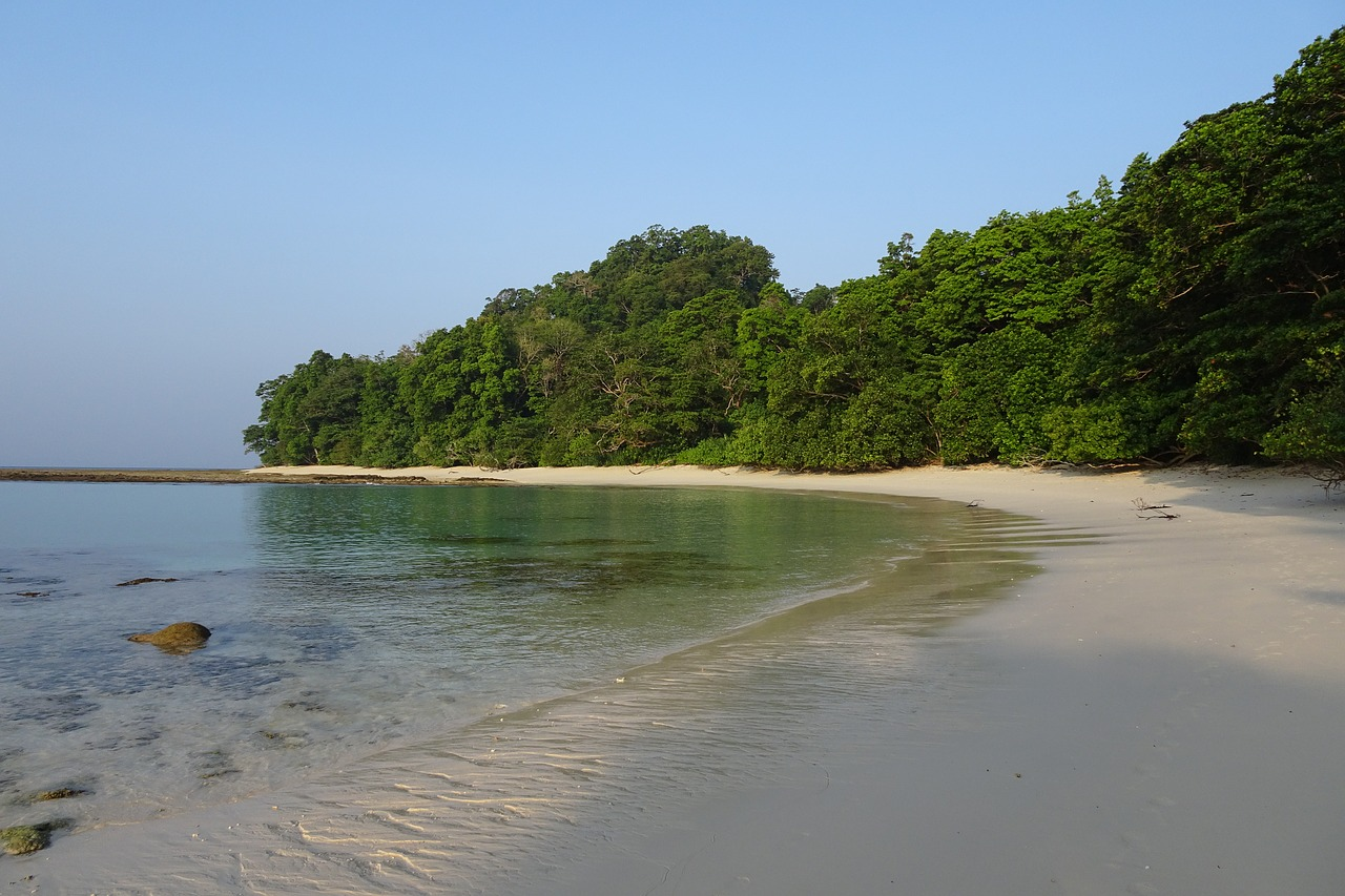Place to Visit in Andaman Nicobar Islands-Radhanagar Beach