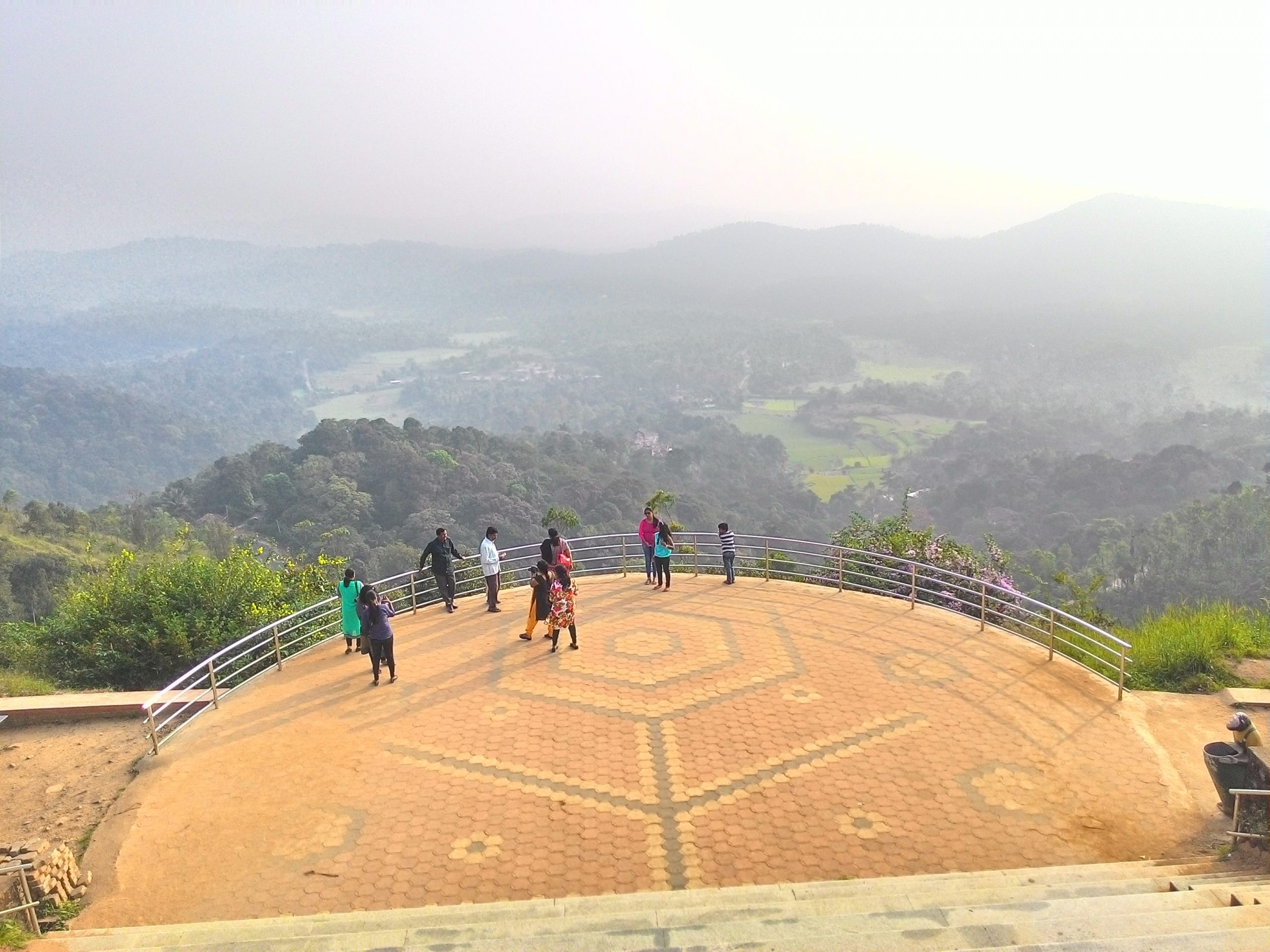 Raja's seat - Main Attractions Of Coorg Scotland of India
