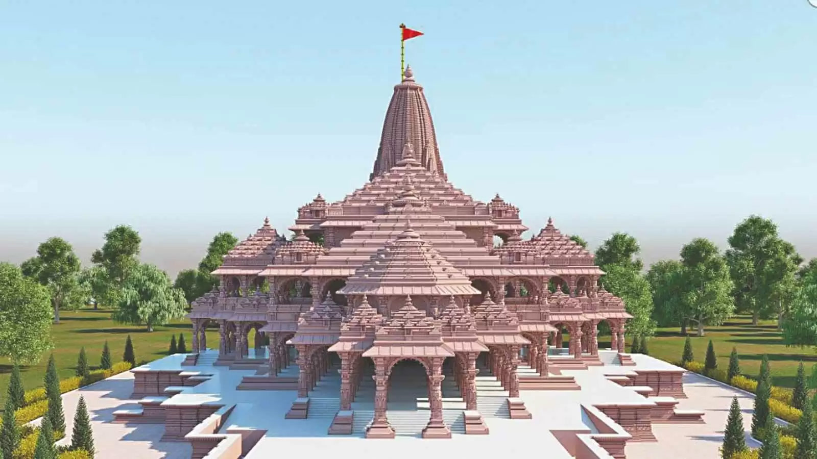 Best Spiritual Destinations in Uttar Pradesh-Ram Mandir, Ayodhya