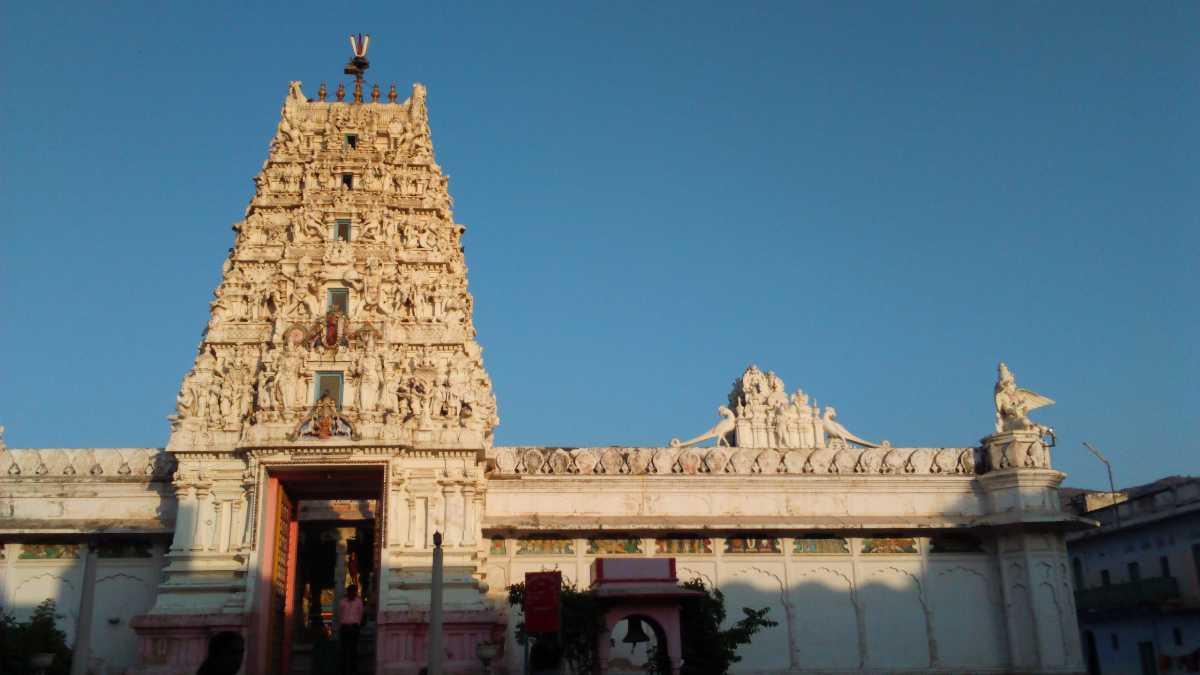 Popular Temple in Mathura-Rangji Mandir