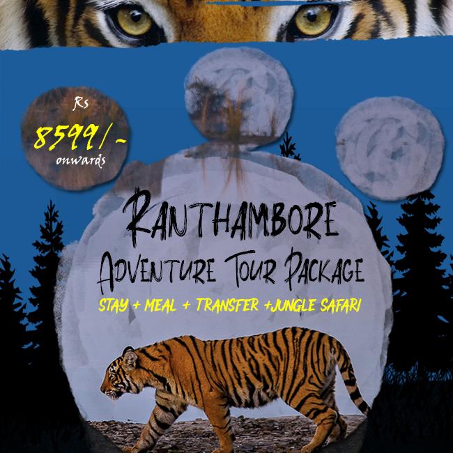 Ranthambore Adventure Tour Package