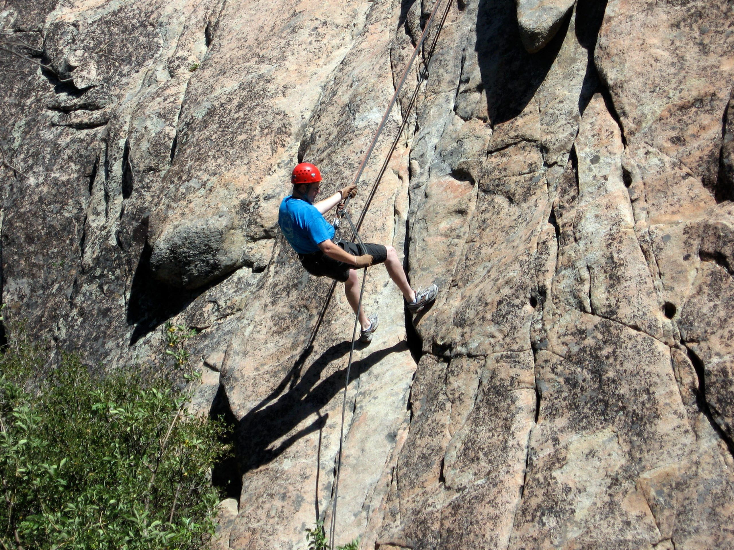 Rappelling in Mussoorie Things To Do In Uttarakhand