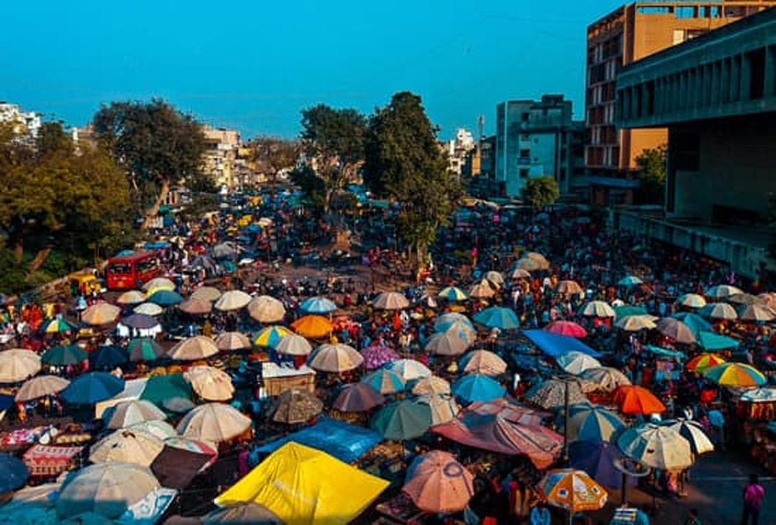 Ravivari Market (Gujari Market) in Ahmedabad