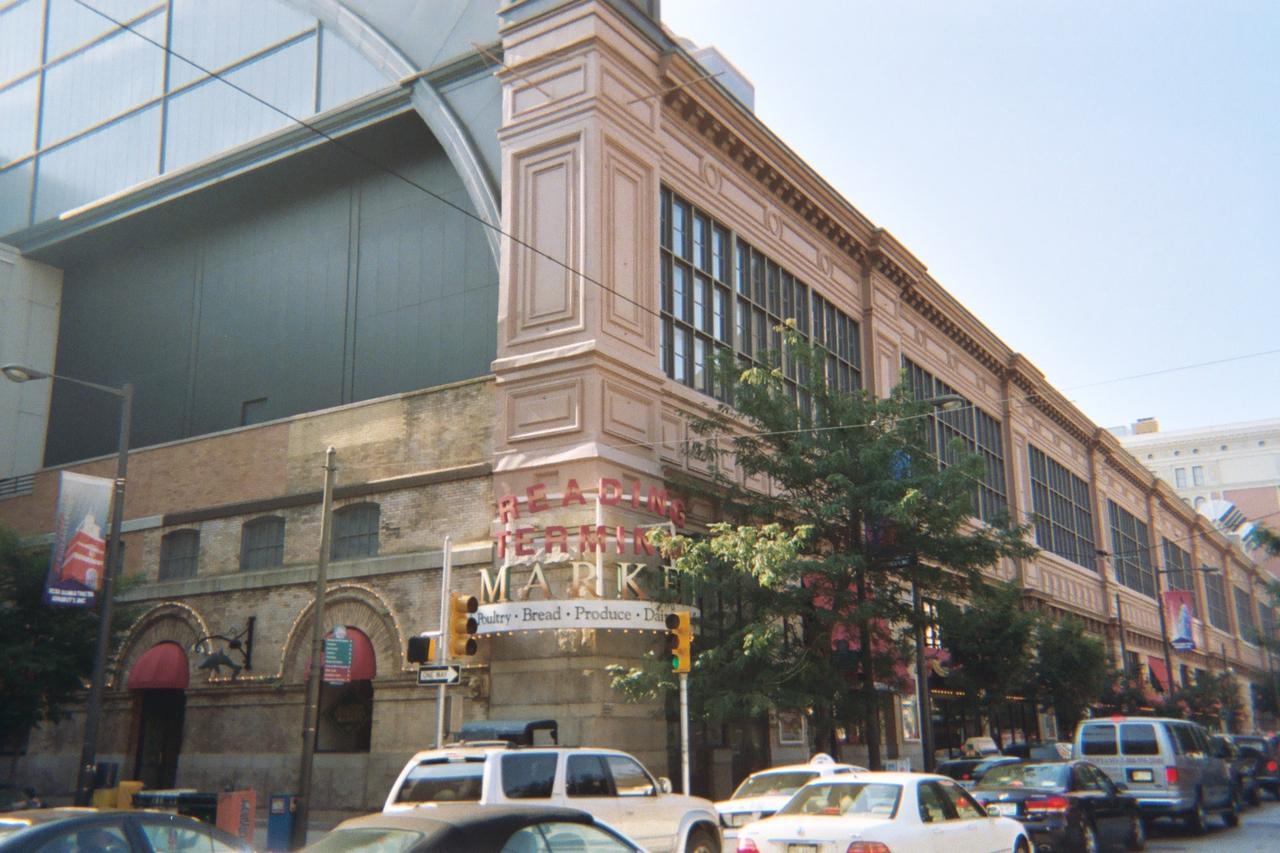 Tourist Attraction in Philadelphia-Reading Terminal Market