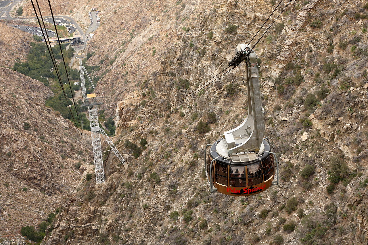 Ride the Palm Springs Aerial Tramway - Fascinating Thing To Do In Palm Springs, California