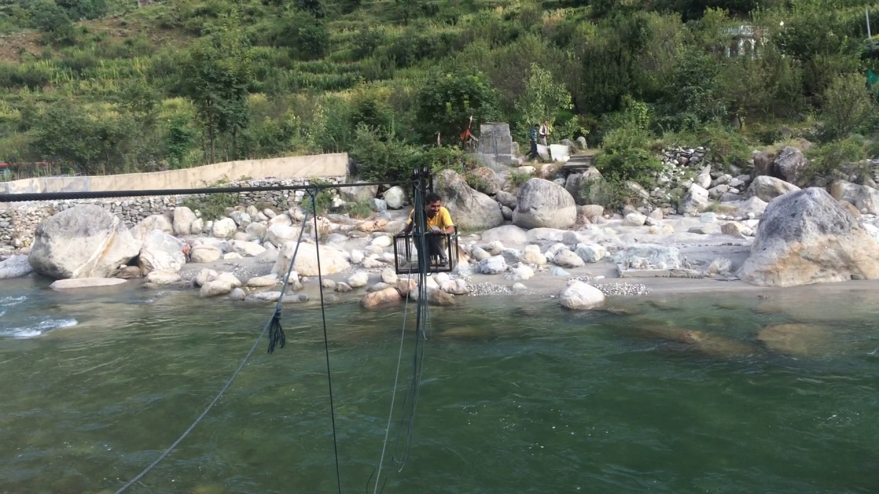 Best Place to Visit in Tirthan Valley-River Crossing
