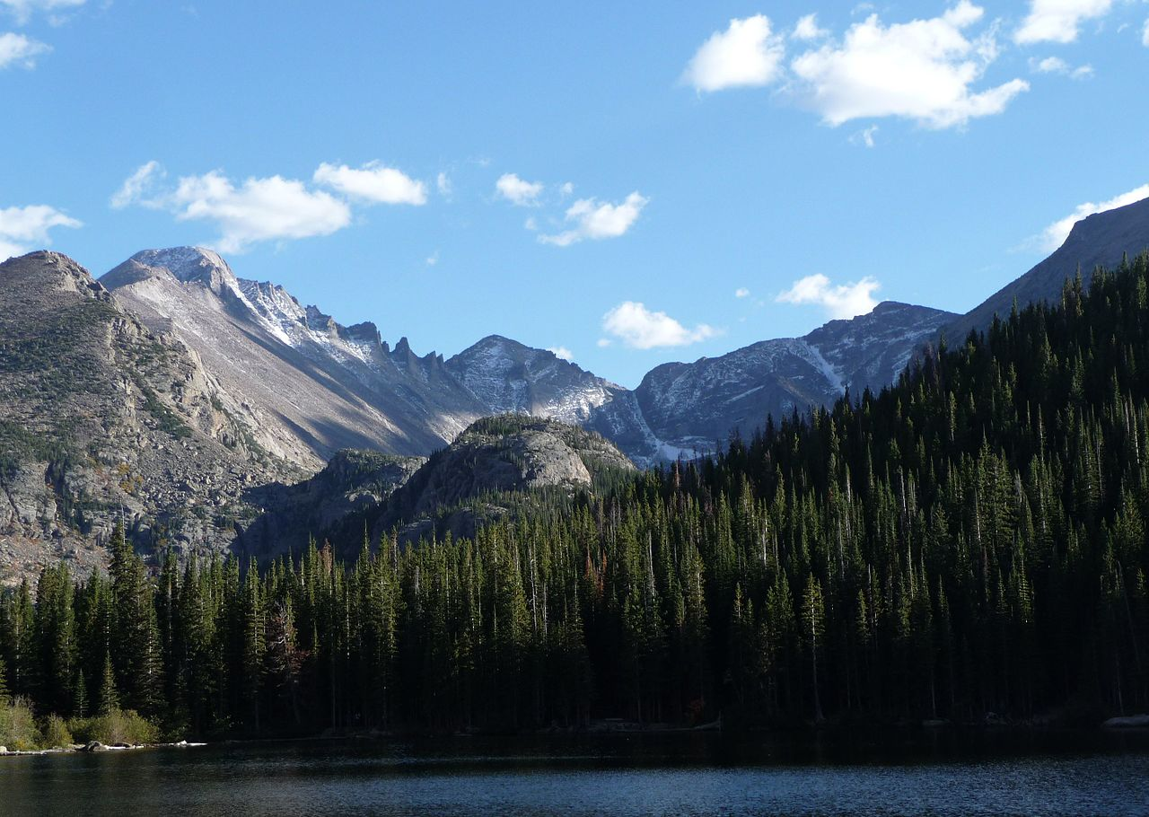 Famous National Parks In Texas-Rocky Mountain National Park