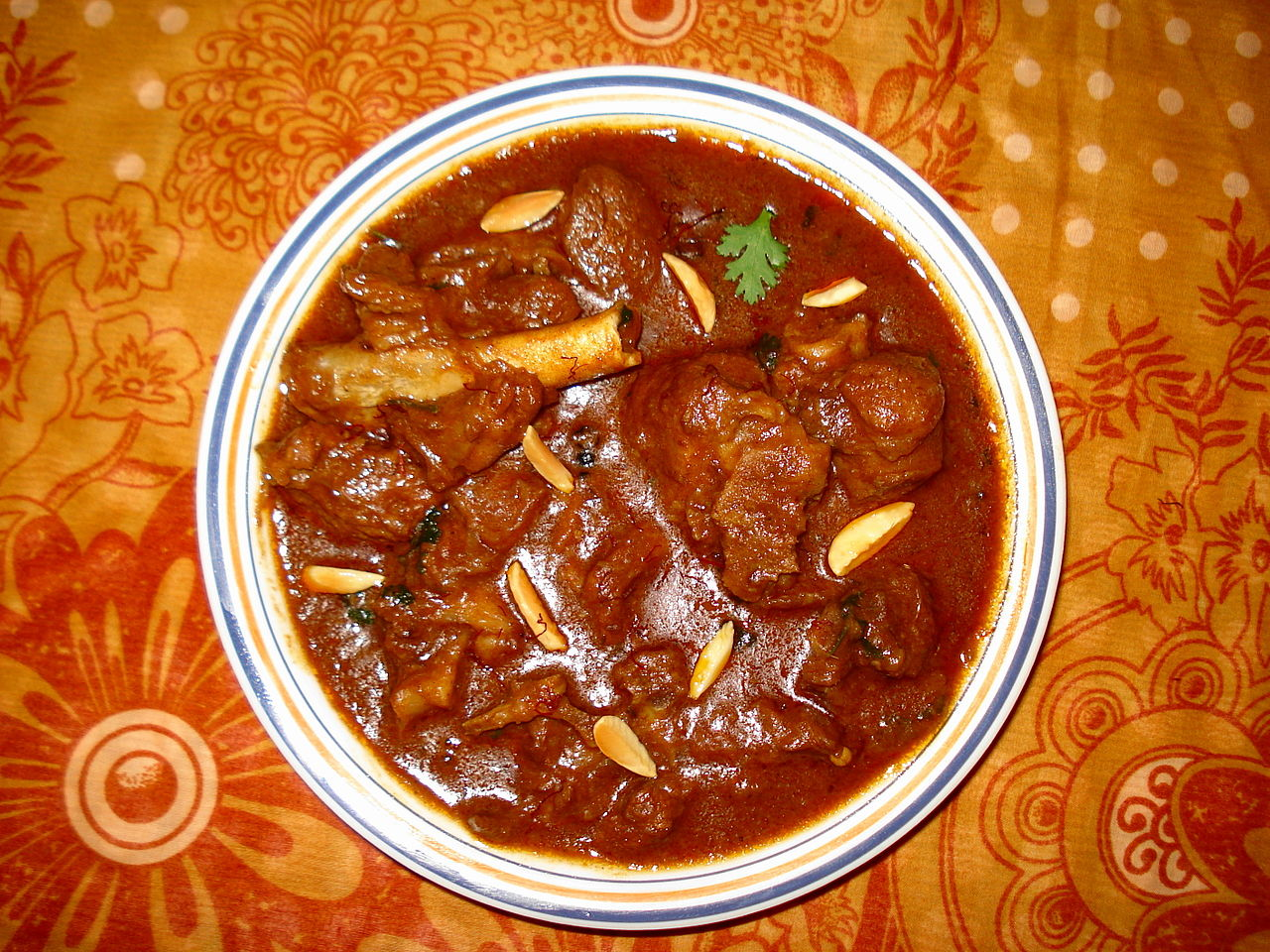 Rogan Josh- Best Dish To Try in Bhopal