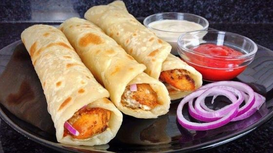 Rolls - Best Street Foods In Bhubaneswar