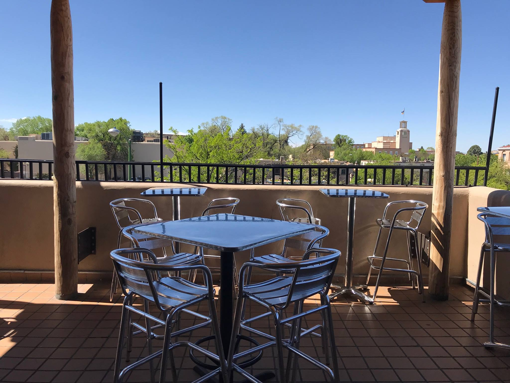 Sightseeing Place to Visit In Santa Fe, New Mexico-Rooftop Pizzeria