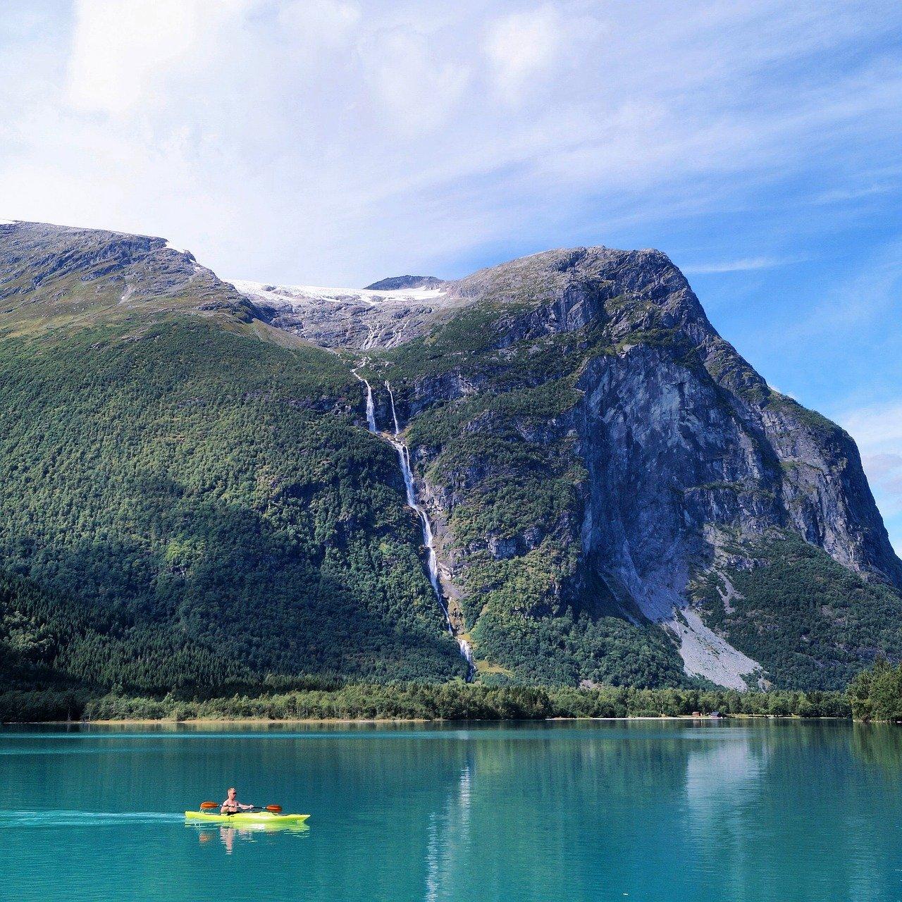 Top Lake of Norway-Rossvatnet