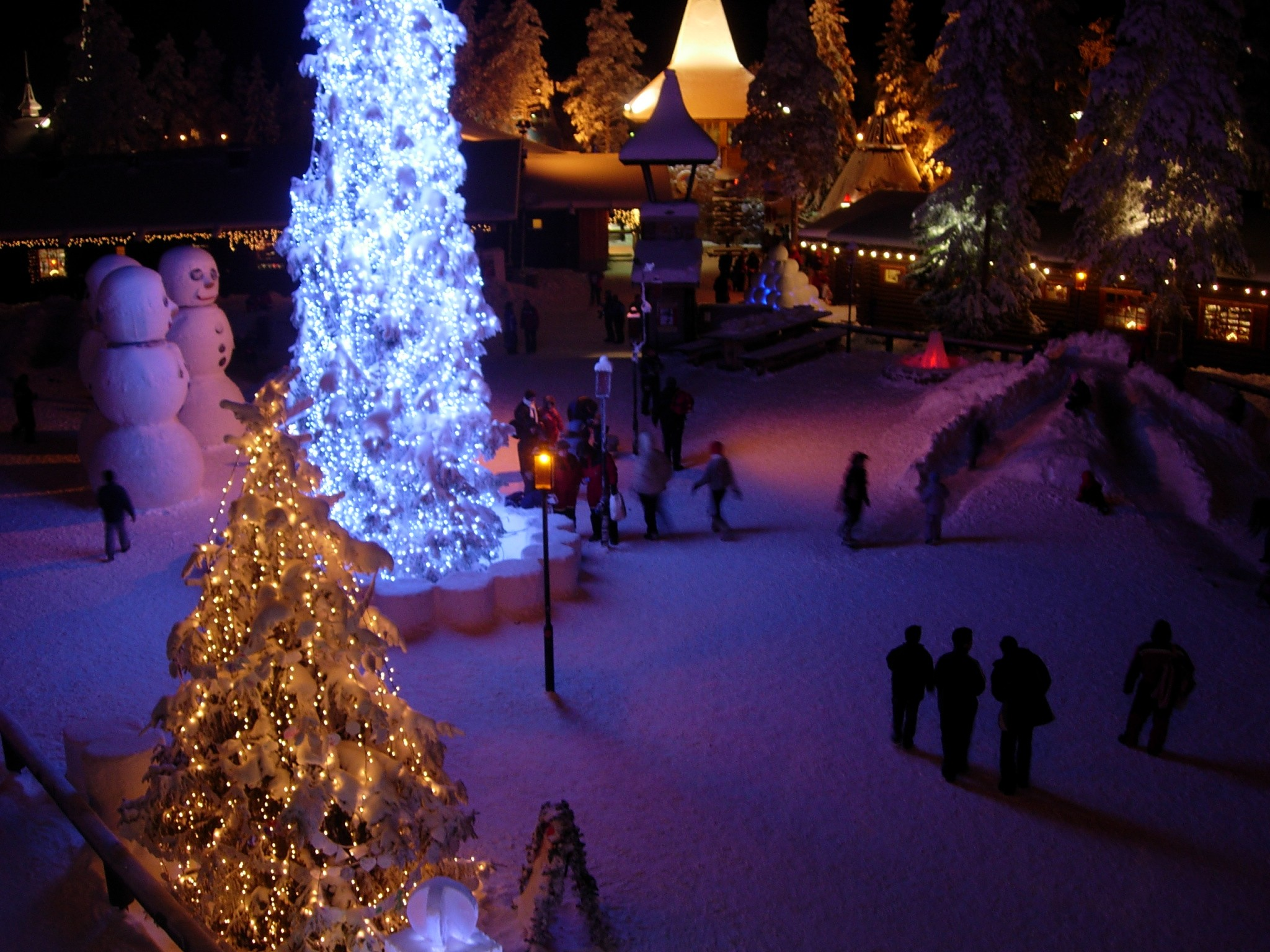 Rovaniemi Santa Claus Welcomes Tourists at Santa Claus Village Places To Visit In Finland