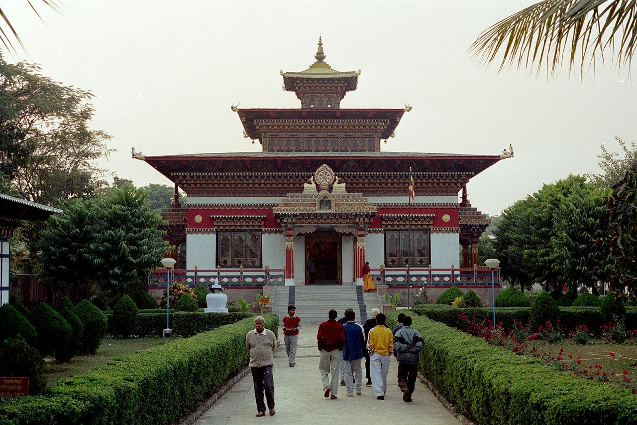 Beautiful Place to Visit In Gaya-Royal Bhutan Monastery