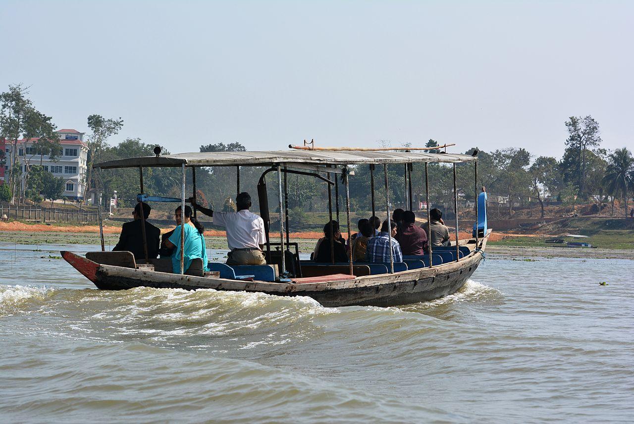 Attraction Tourist Place In Tripura-Rudrasagar Lake, Melaghar