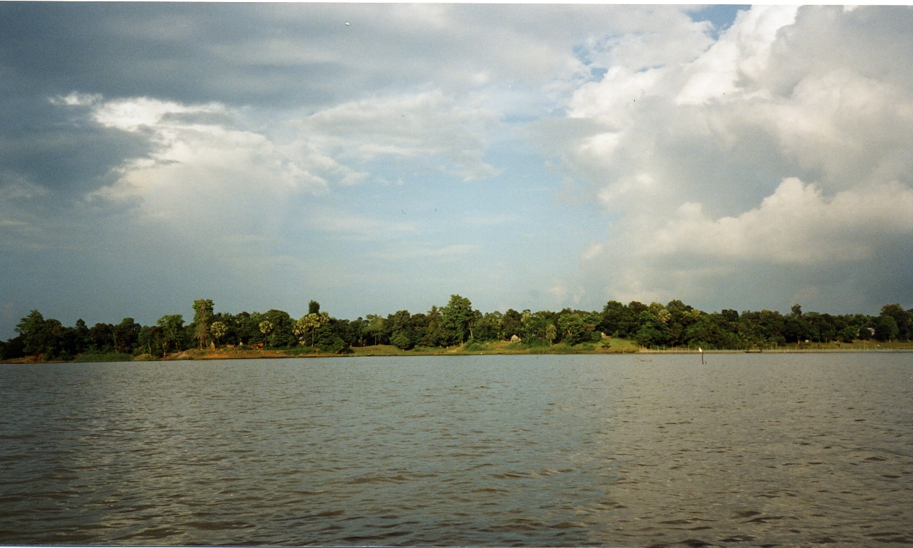 Rudrasagar Lake (Twijilikma) in Agartala, Tripura