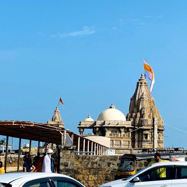 Rukmani Devi Mandir in Dwarka, Gujarat