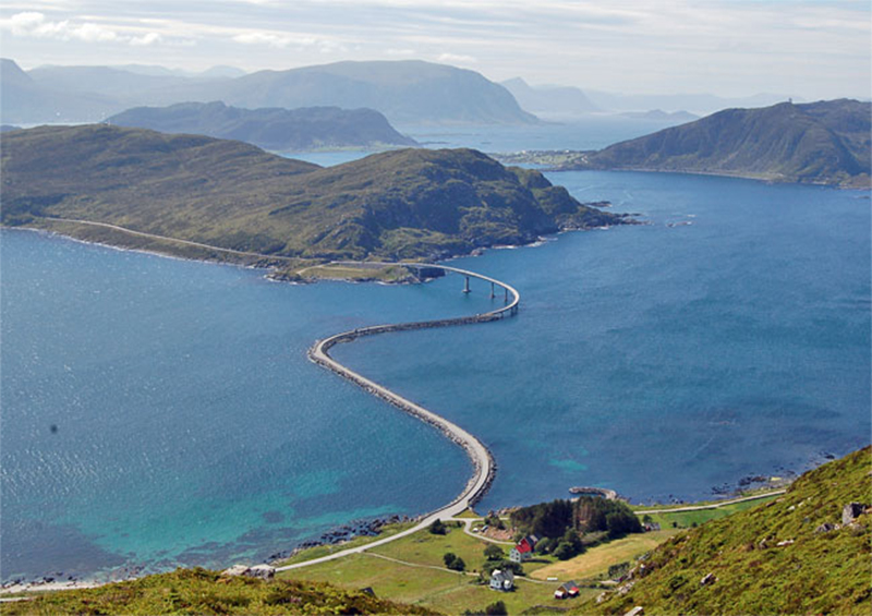 Runde Island - Visit the Island in Norway to see the Runde Bridge and Birds
