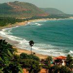 Rushikonda Beach in Vizag, Andhra Pradesh