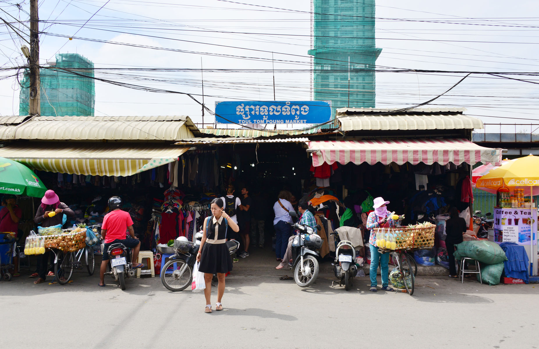 Must Visit Place for Every Shopaholic in Cambodia-Russian Market