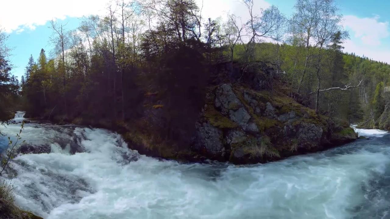 Incredible Waterfall In Alaska-Russian River Falls, Kenai Peninsula