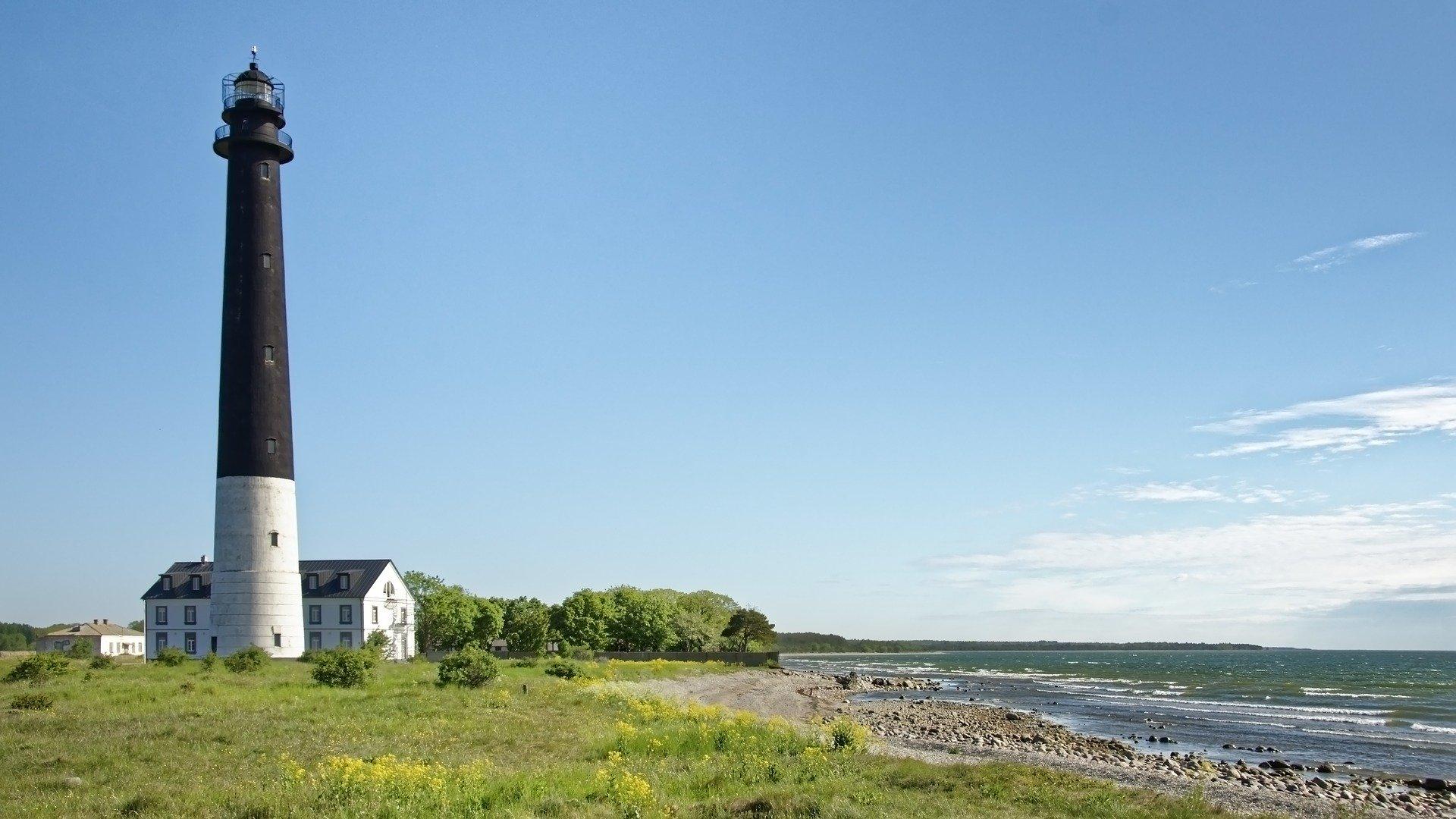 Saaremaa Island In Estonia