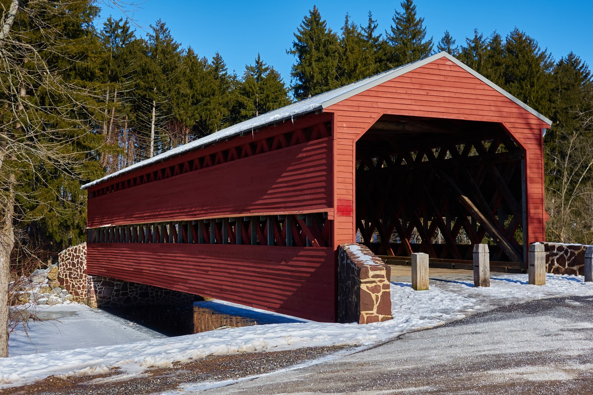 Sachs Covered Bridge - Must-Watch Tourist Attraction In Gettysburg in Pennsylvania