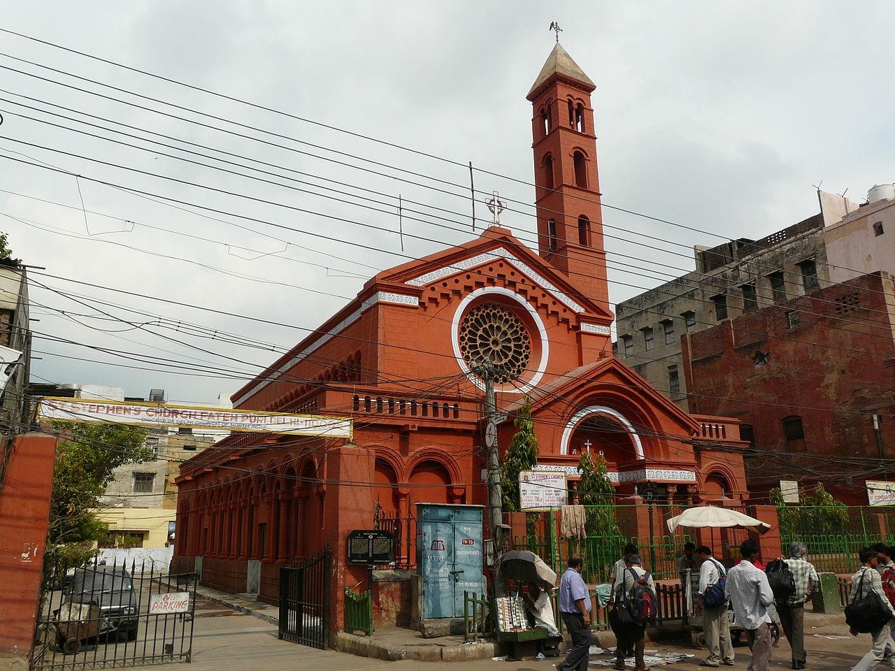 Top Spiritual Destination In Delhi-Saint Stephen's Church