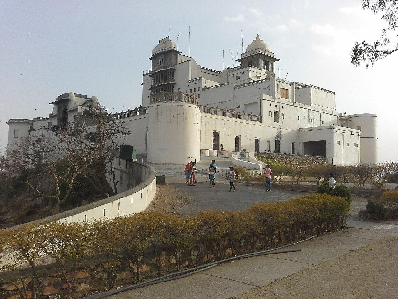 Sajjangarh Monsoon Palace in Udaipur
