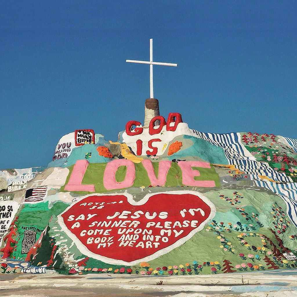 Aesthetic Destination To Visit In California-Salvation Mountain