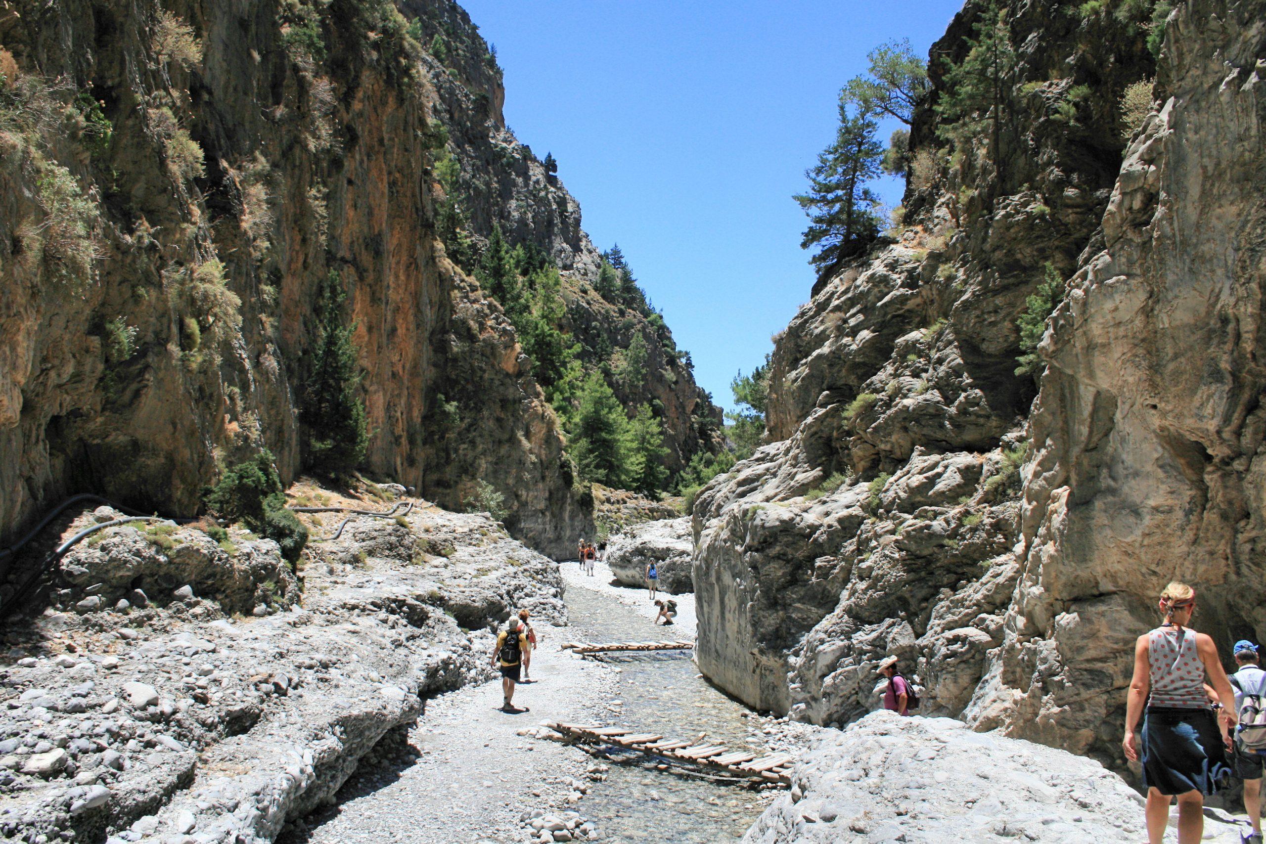 Beautiful Place To Visit in Crete Islands-Samaria Gorge