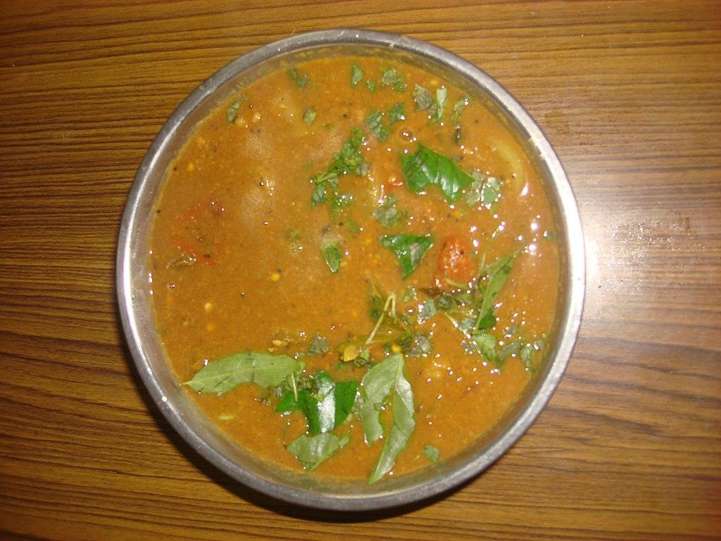 Top Food To Try When in Tamil Nadu - Sambhar