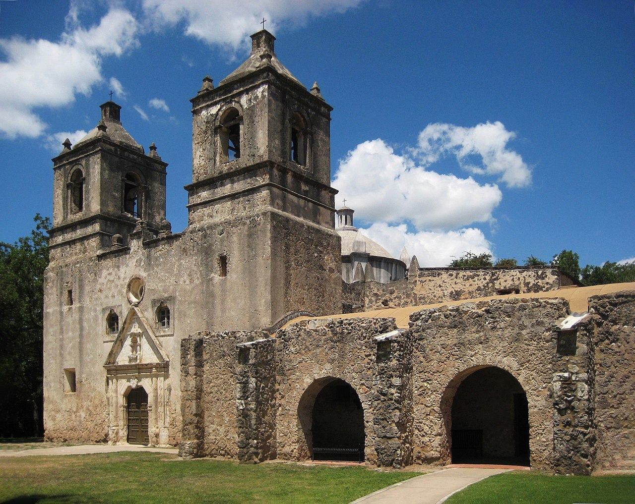 Top National Parks In Texas-San Antonio Missions Historic National Park