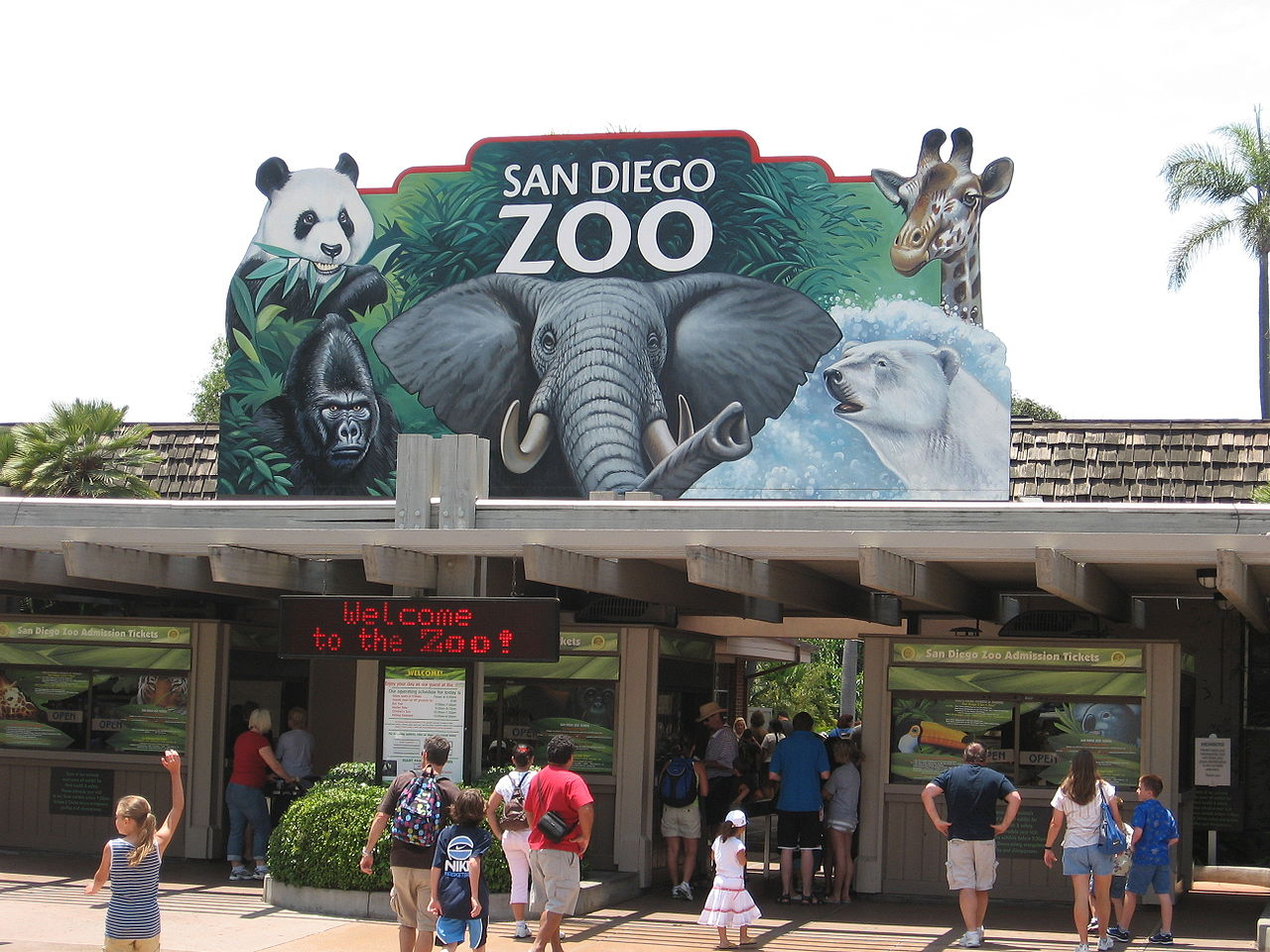 Fun Place For Your Kids Visit In The USA-San Diego Zoo, San Diego